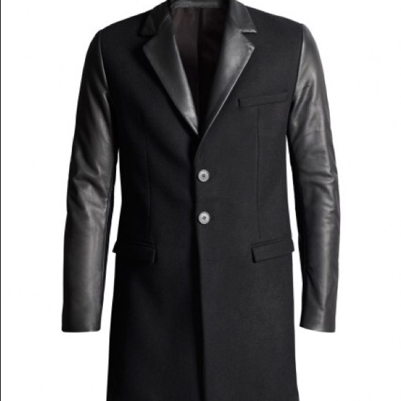 Versace Jackets & Blazers - Rare Collection - Versace X H&M Black Trench Coat